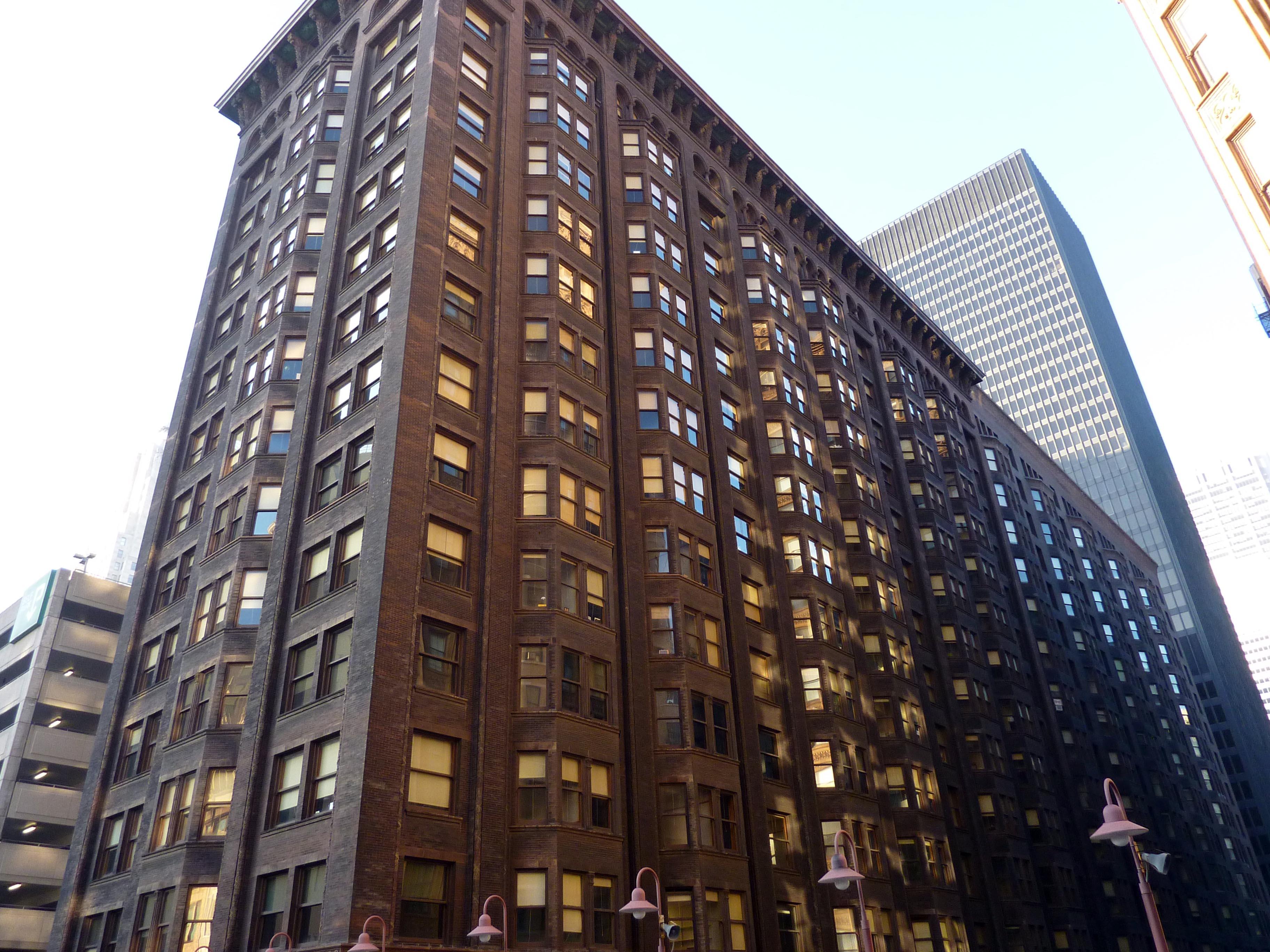 the monadnock building blueprint chicago