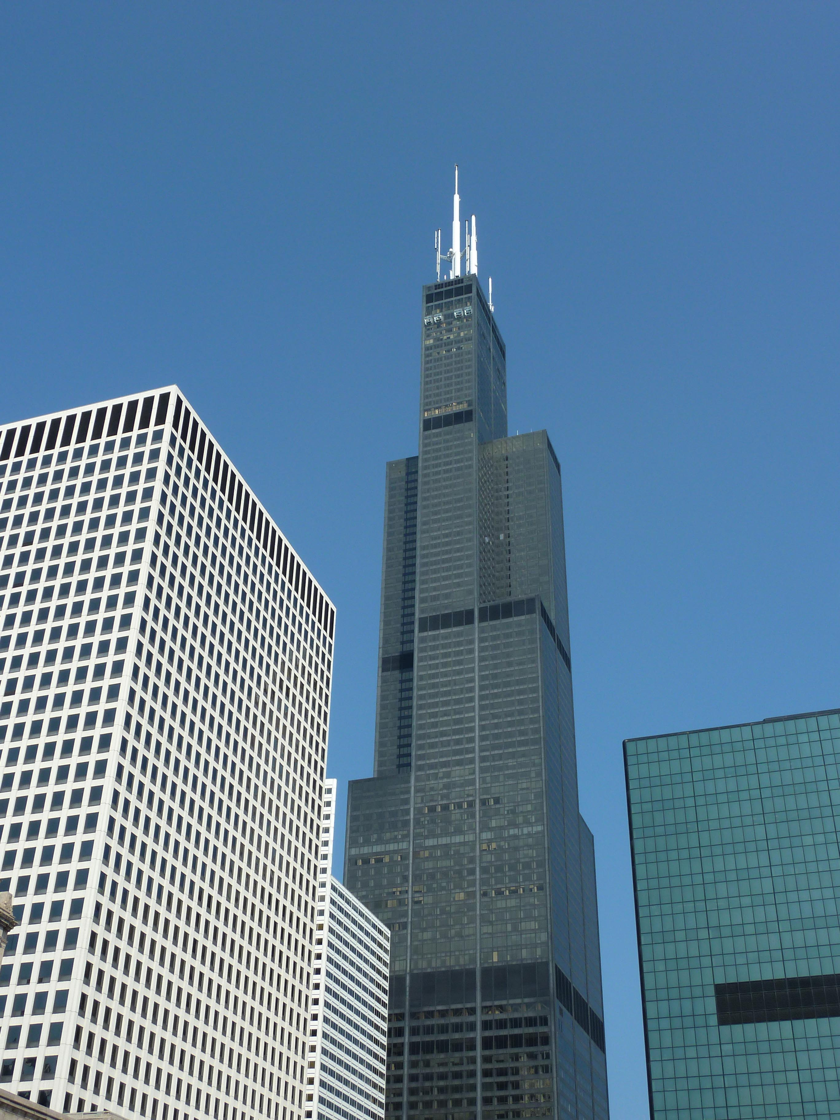 The Willis Tower Blueprint Chicago